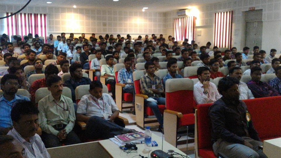 Seminar on Career Opportunities @ Kamala Inst. of Tech & Science